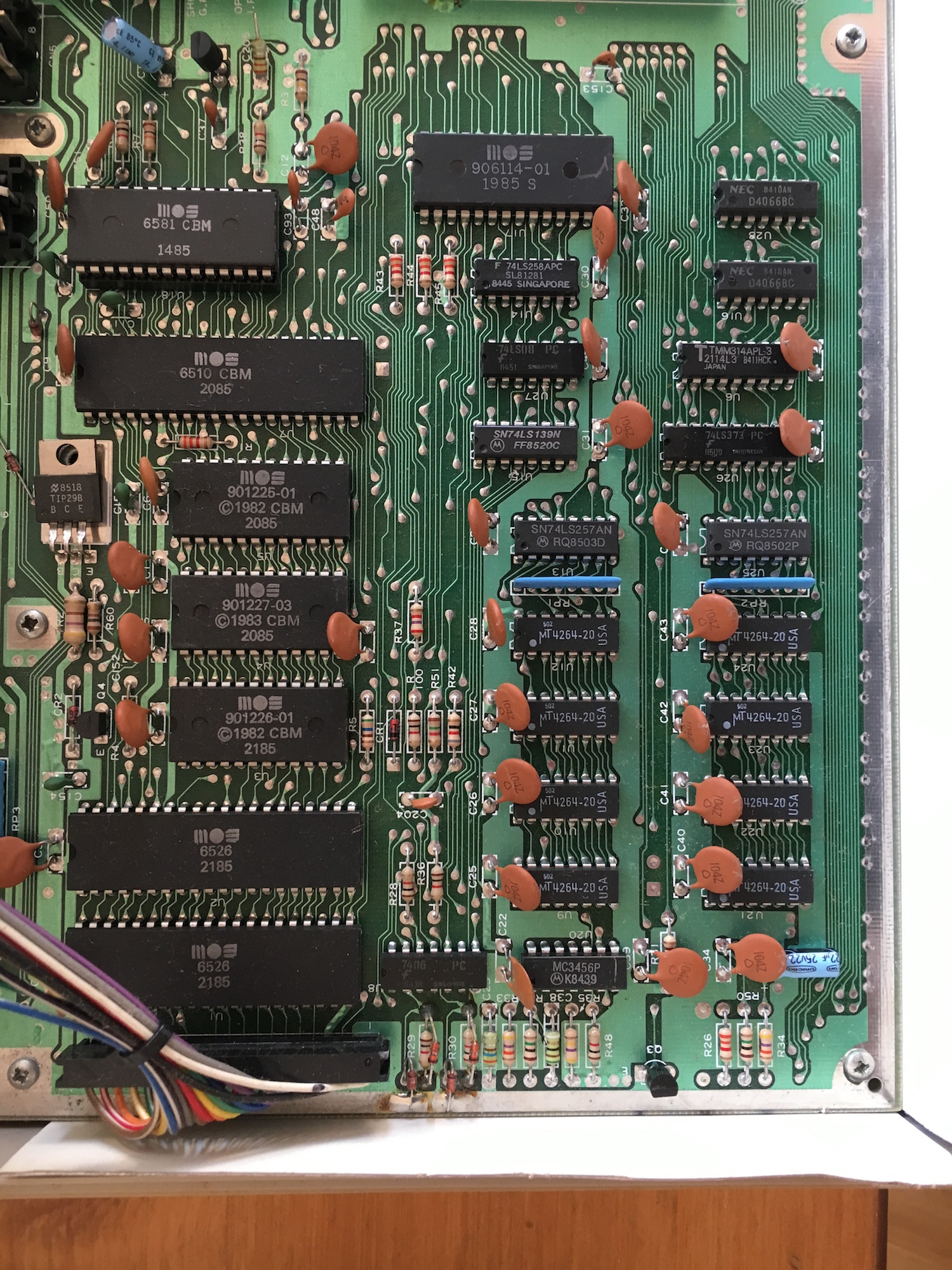 """fixing a C64 with """"out of memory error in 0"""" – WiSo's"""