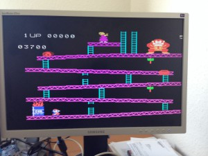 Colecovision on MiST running Donkey Kong